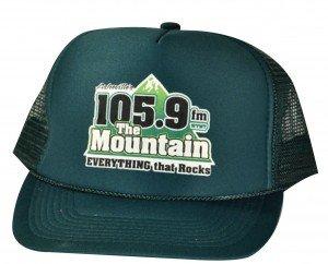 cap with radio station logo